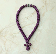 50-knot Greek with Accents - Plum