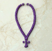 50-knot Greek with Accents - Purple