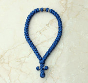 50-knot Greek with Accents - Royal Blue