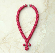 50-knot Greek with Accents - Rose