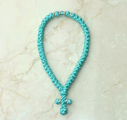50-knot Greek with Accents - Turquoise