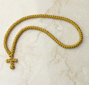 100-knot Greek Prayer Rope - Gold