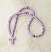 100-knot Greek Prayer Rope - Lavender