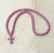 100-knot Greek Prayer Rope - Mauve