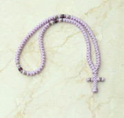 100-knot Greek with Accents - Lavender