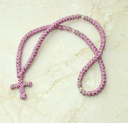 100-knot Greek with Accents - Mauve