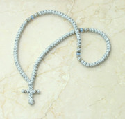 100-knot Greek with Accents - Silver