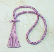 100-knot Russian Prayer Rope - Mauve