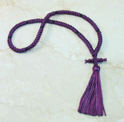 100-knot Russian Prayer Rope - Plum