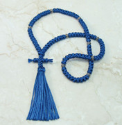100-knot Russian Prayer Rope - Royal Blue