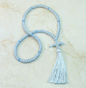 100-knot Russian Prayer Rope - Silver