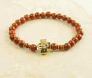 Goldstone Prayer Bracelet
