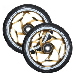 ENVY 120MM/30MM TRI BEARING WHEEL- GOLD/BLACK |PAIR