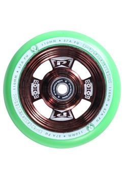 Phoenix Rotor Wheels 110mm Mint/Bronze