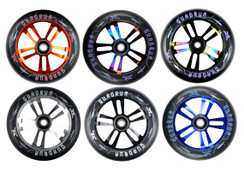 AO Quadrum 100mm Wheel Pair Black/Oil Slick