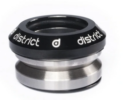 DISTRICT S-SERIES MINI HEADSET (FOR USE WITH MINI FORKS ONLY)-BLACK