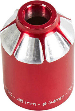 Ethic DTC Alu Pro Scooter Peg 48mm - Red