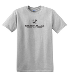 Barking Spyder Pro Shop tee Ash Gray
