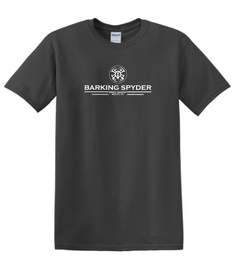 Barking Spyder Pro Shop tee Charcoal