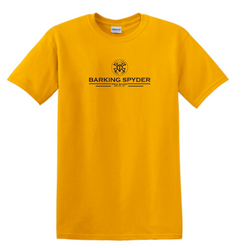 Barking Spyder Pro Shop tee Gold
