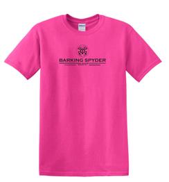 Barking Spyder Pro Shop tee Pink