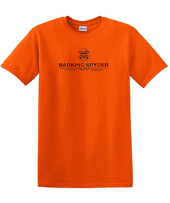 Barking Spyder Pro Shop tee Orange