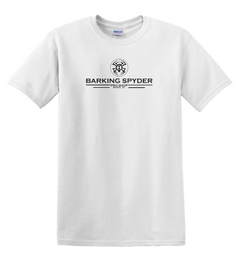 Barking Spyder Pro Shop tee White