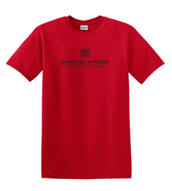 Barking Spyder Pro Shop tee Red