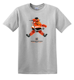 Barking Spyder Gritty Tee Gray