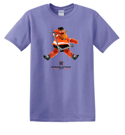 Barking Spyder Gritty Tee Purple (Oscar Strong)