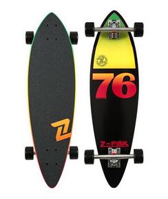 "Z-Flex  Mini Pintail Black Rasta 32"""