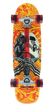 "Powell Peralta Skull & Sword Mini 8"""