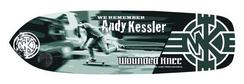 "Wounded Knee Skateboards Andy Kessler 9"""