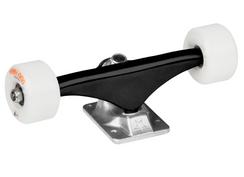 "Mini Logo Assembly Black/Raw 8.38"" w/ 53mm 101a A-cut White"