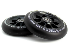 North Scooters Pentagon 88A Scooter Wheels Black/Black