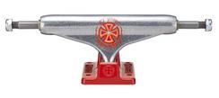 Independent STD Martinez Silver/Red 144mm