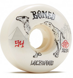 Bones Lockwood Smokin Slims Wheels 54mm 103a