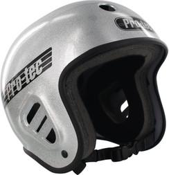 Pro-Tec Full Cut Helmet Silver Flake Large
