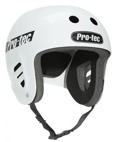 Pro-Tec Full Cut Helmet Gloss White Medium