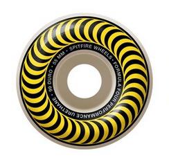 Spitfire F4 Classic Swirl White/Yellow 55mm 99a