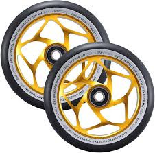 Envy Gap Core wheels Black/Gold 120mm