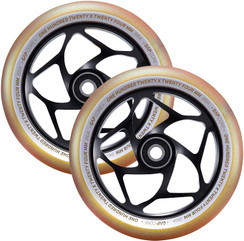 Envy Gap Core wheels Gold/Black 120mm