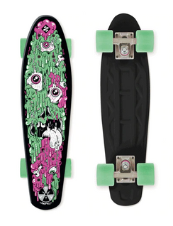 Street Surfing Plastic Cruiser Fuel Board Melting