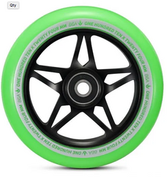 Envy S3 Wheels Black/Green