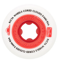 Ricta Cored Cloude White/Red 54mm 86a