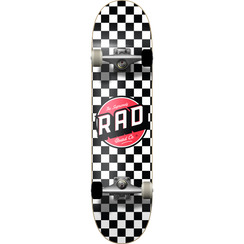 Rad Checker 2 Complete Black/White 8""