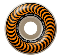 Spitfire F4 Classic Swirl Natural/Orange 53mm 99a