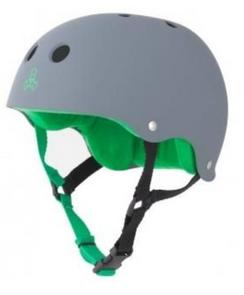 Triple 8 Carbon Rubber/Green Large