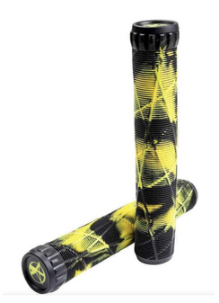 Eagle Supply X Addict Grips Black/Yellow