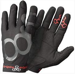 Triple 8 Exoskin Gloves Large